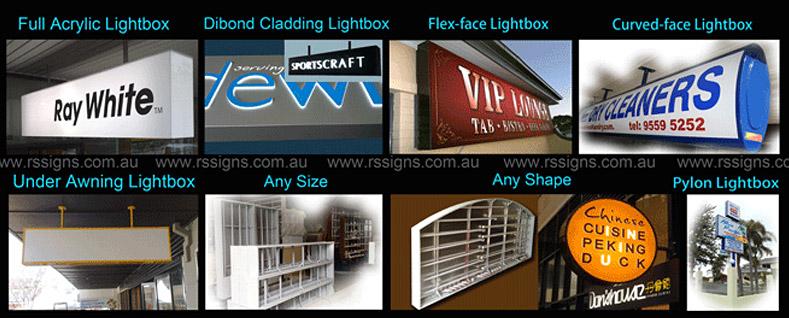 Rising Signs   Light box   Sign Writers   Signage Company Sydney